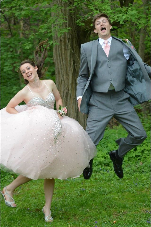 photos having fun on prom day schools