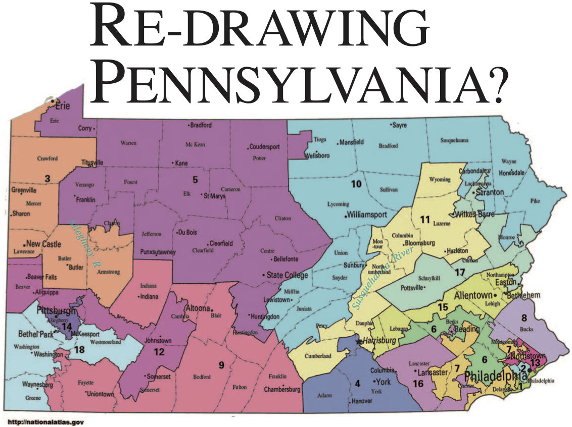 State Supreme Court Rules Pa Congressional Maps Are Illegal - Maps of pa