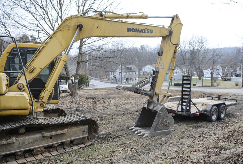 Former historic hotel brought down