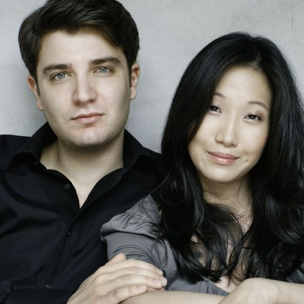Married pianists make sweet music together