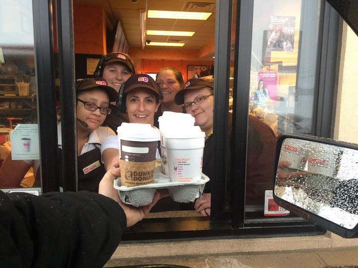 Sunbury Runs On Dunkin Coffee News Dailyitem Com