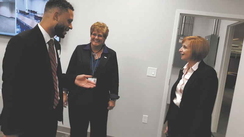 County officials tour renovated DRIVE office