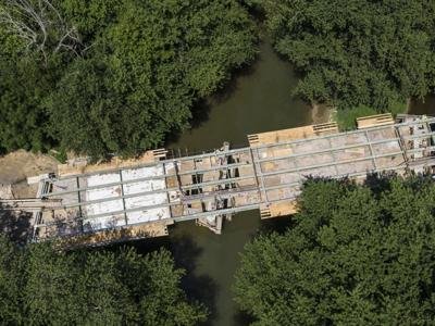 Valley bridge projects delayed by weather