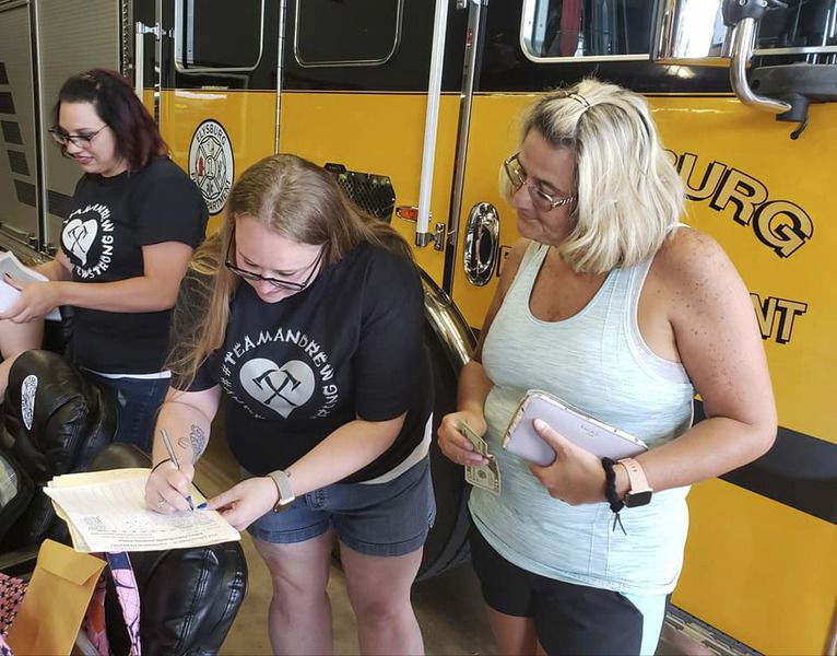 Friends, family sell tickets to benefit firefighter diagnosed with Legionnaire's disease