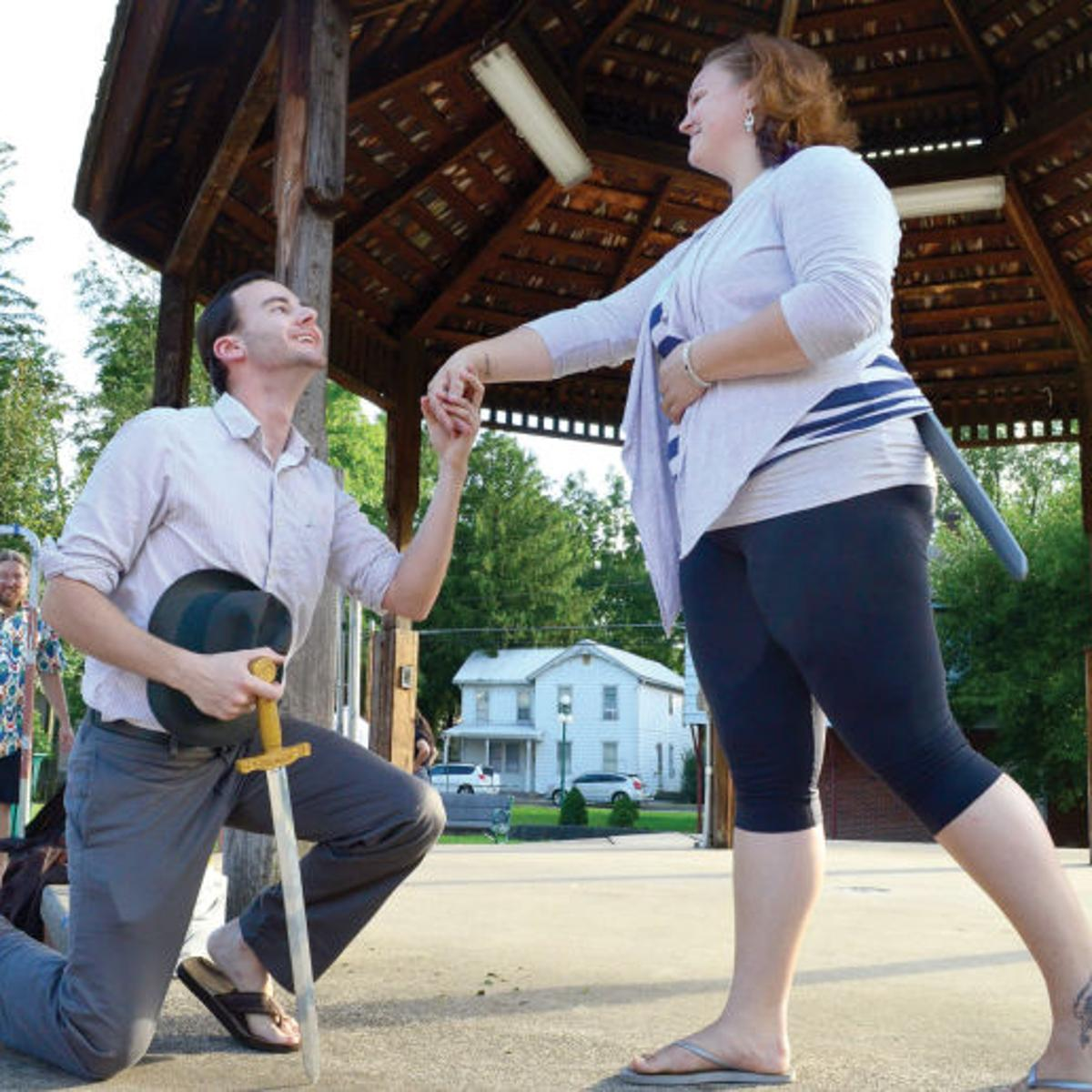 Annual Shakespeare in the Park auditions set | Applause | dailyitem com