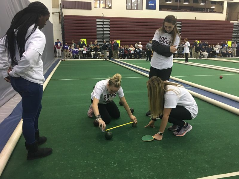 Special Olympians from 20 counties team up for Bocce Ball Bash