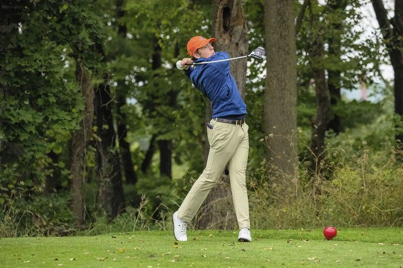 Bucknell golfer Wisdom skilled beyond his years