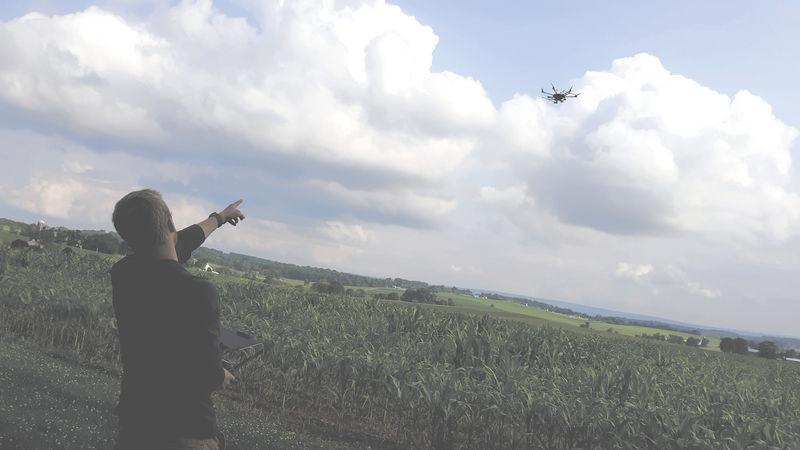 Penn State professor, student demonstrate drone capabilities