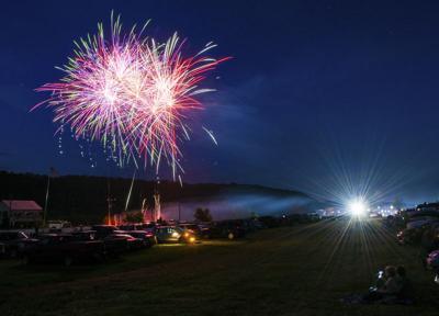 Fireworks kick off holiday weekend