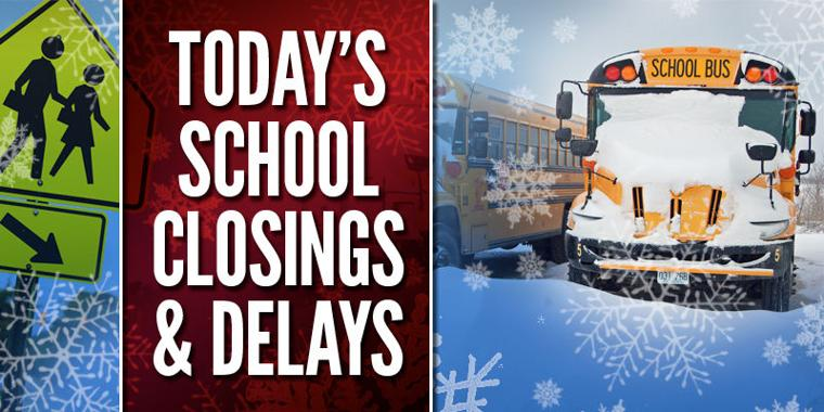 School Cancellation: School Delays And Closings For Monday, Jan. 25
