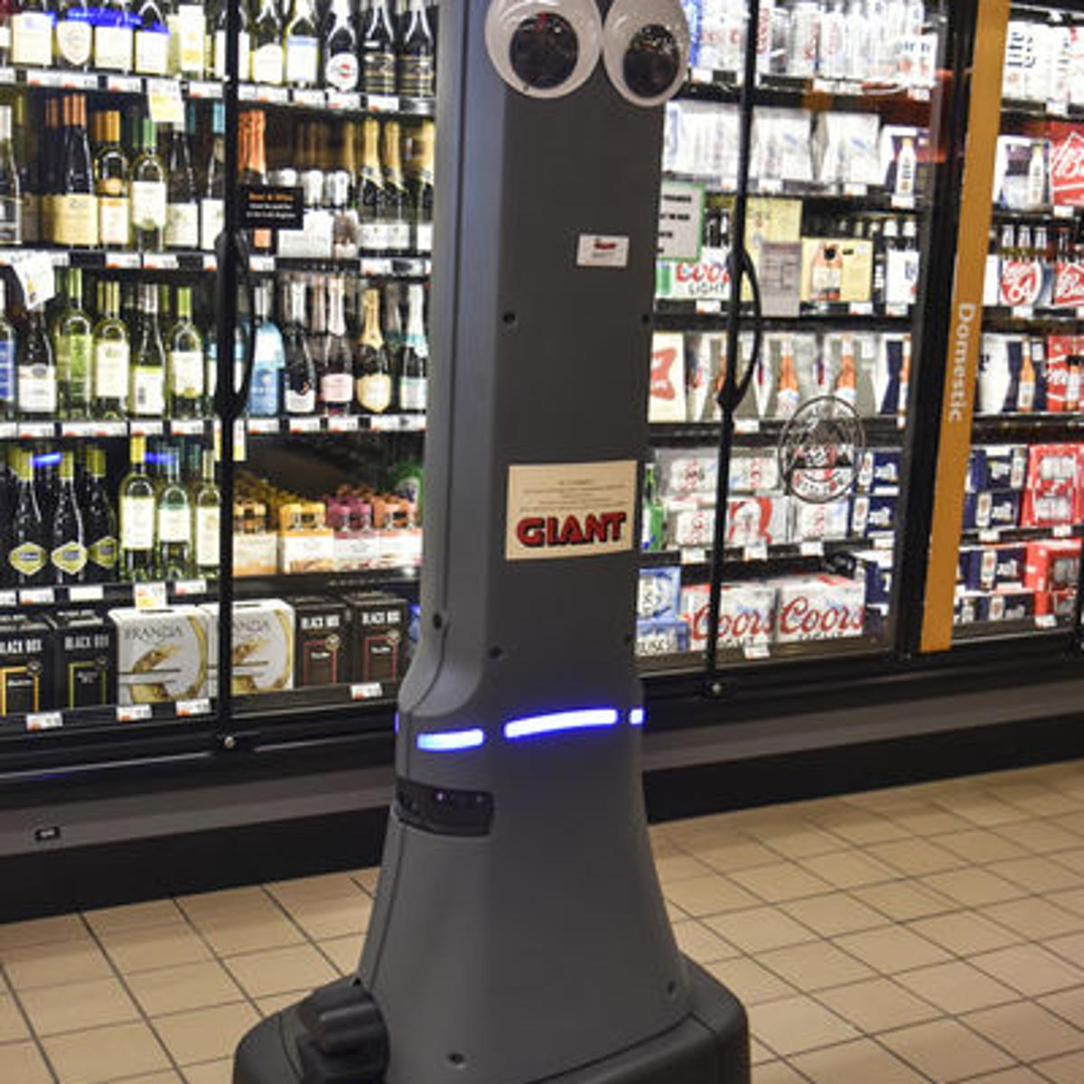 Robotic assistant joining Giant Food Stores team | Snyder