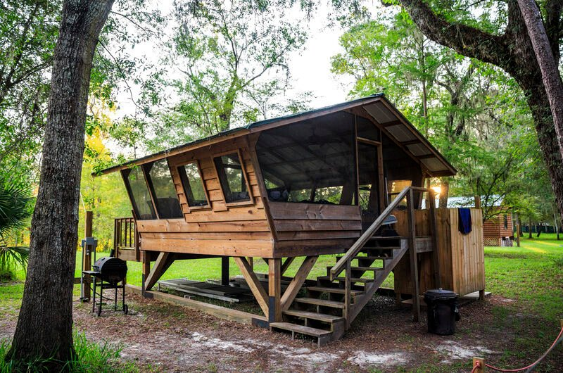 'Glamping' and recreational vehicles going mainstream