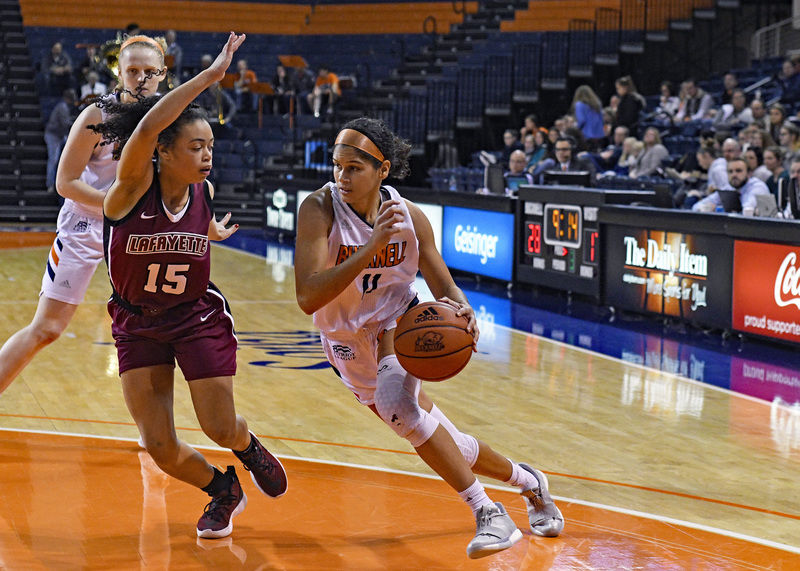 Bison women answer issues with victories
