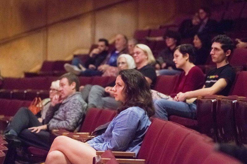 Activist talks climate change through one-man show