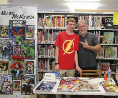 Local library's video series focuses on comic books