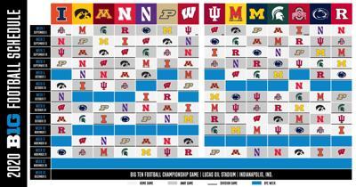 Big Ten football schedule