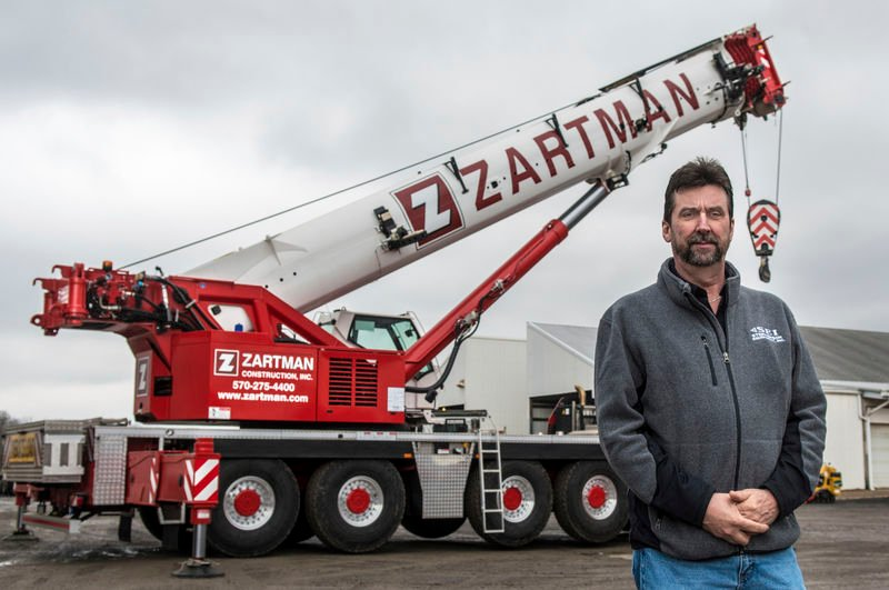Zartman Construction is ready for some heavy lifting