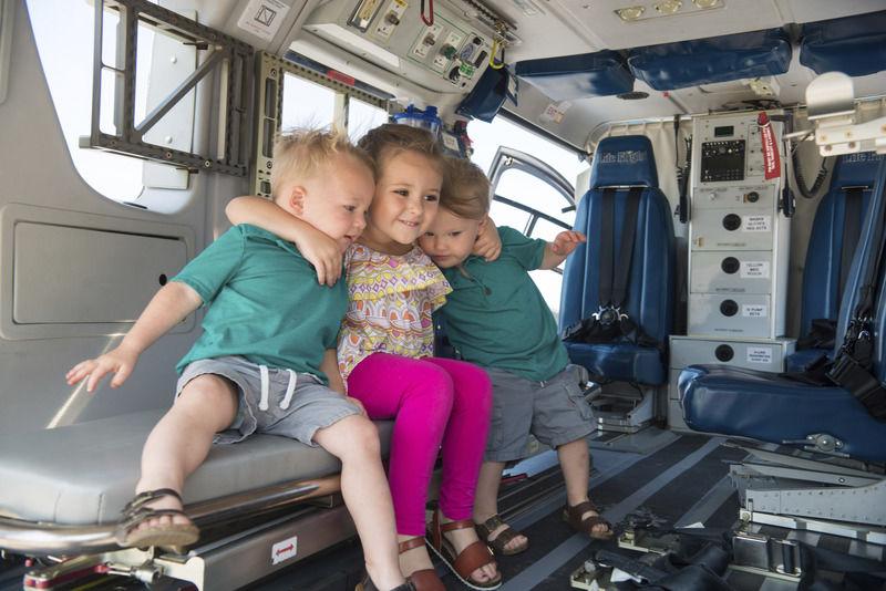 Geisinger hosts open house for Life Flight Base