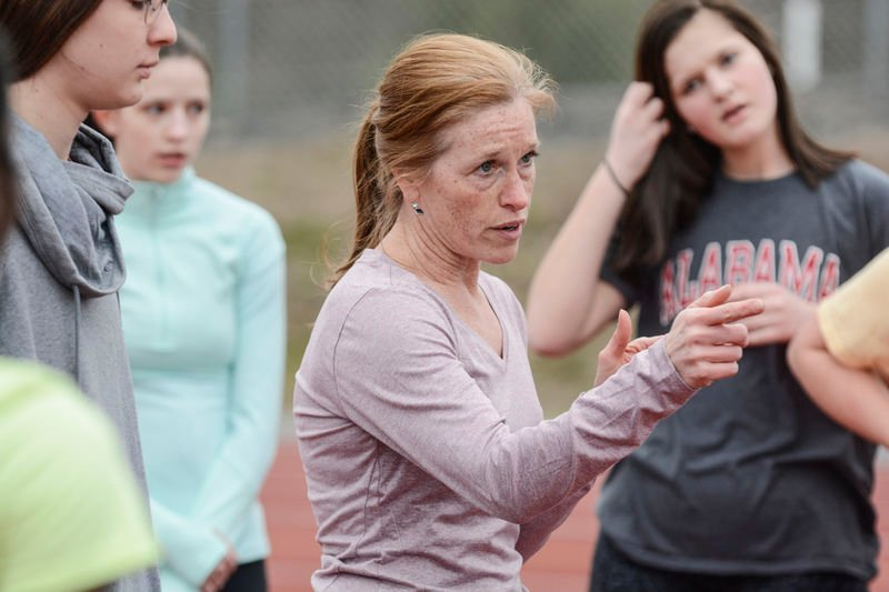 Female coach takes the helm of Danville girls' track and field