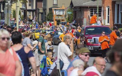 Parade closes Milton's Harvest Festival