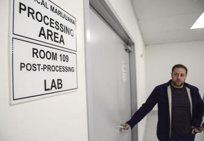 Clean rooms, scrubs, lab jackets — medical marijuana is a
