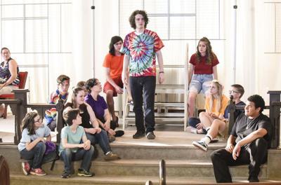 Young actors to present 'Godspell'