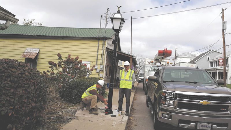 Decorative street lights installed in Washingtonville