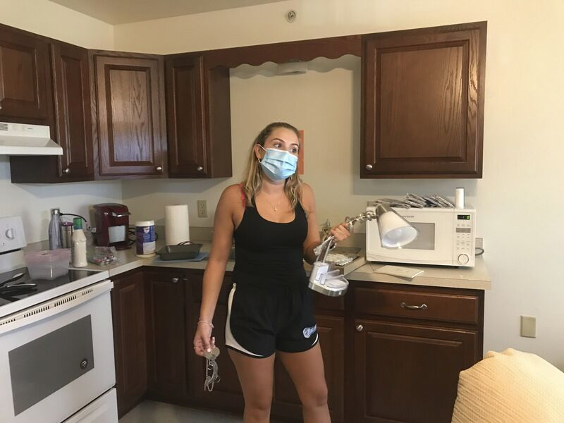 SU holding quarantine drills as seniors return to campus