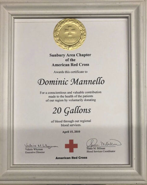 27 gallons and counting: Valley man a constant at blood drives