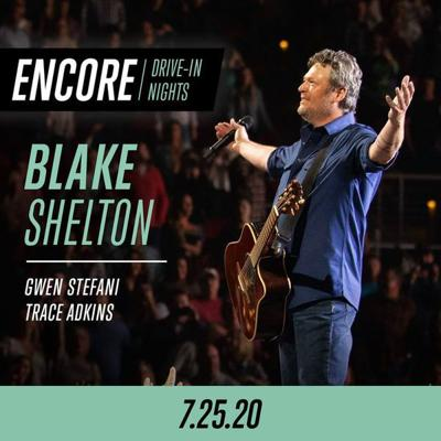 Blake Shelton concert to be screened at The Point Drive-In