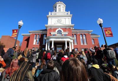 Racial slurs spur outrage at Bloomsburg University