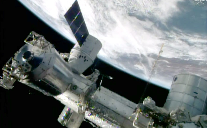 Leak forces astronauts to move in space station | News ...