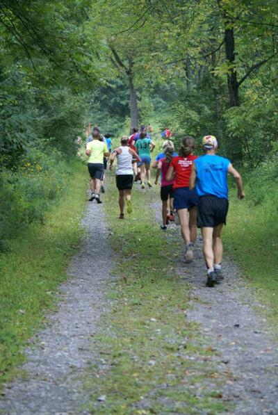 Trail run honors deceased dad, raises funds for Camp Luthor