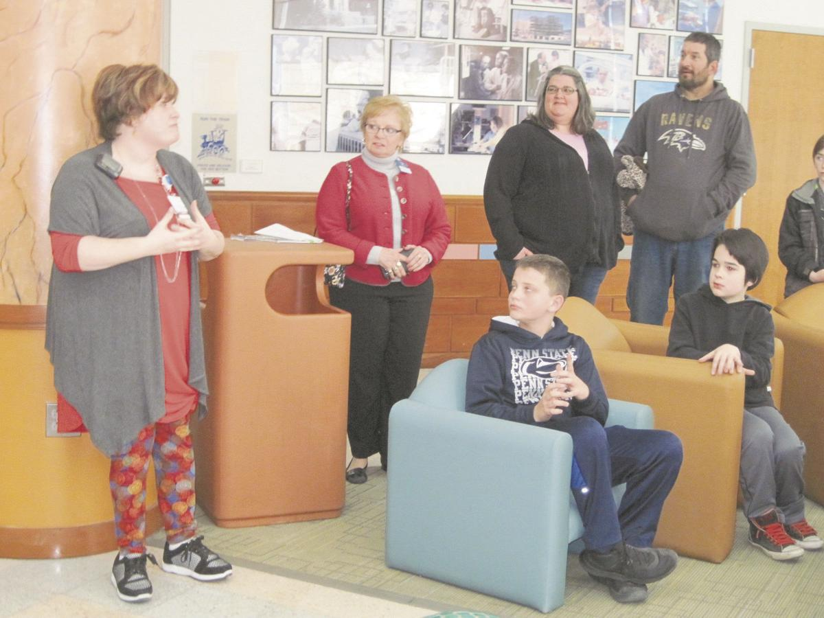 Liberty Valley fourth- and fifth-graders help other children
