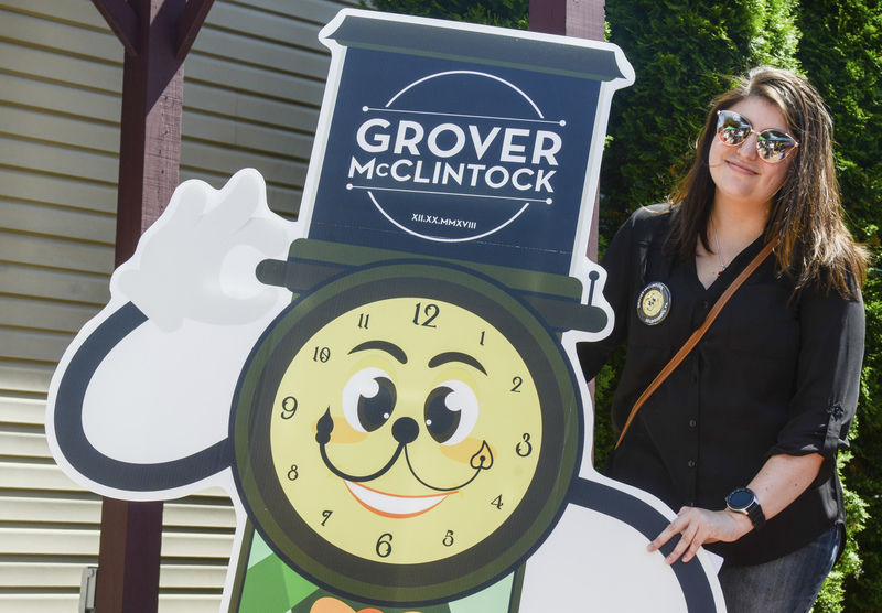 97-year-old clock returns to downtown Selinsgrove