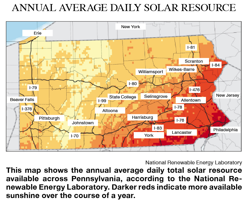 Annual Average Daily Solar Resource