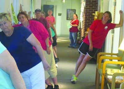 Exercise at the Penns Creek Adult Resource Center