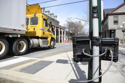 Traffic sound, speed among data collected in Lewisburg