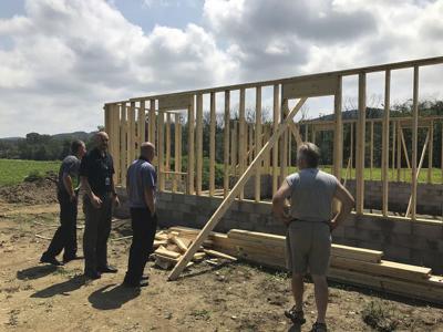 Barn will benefit school's FFA program