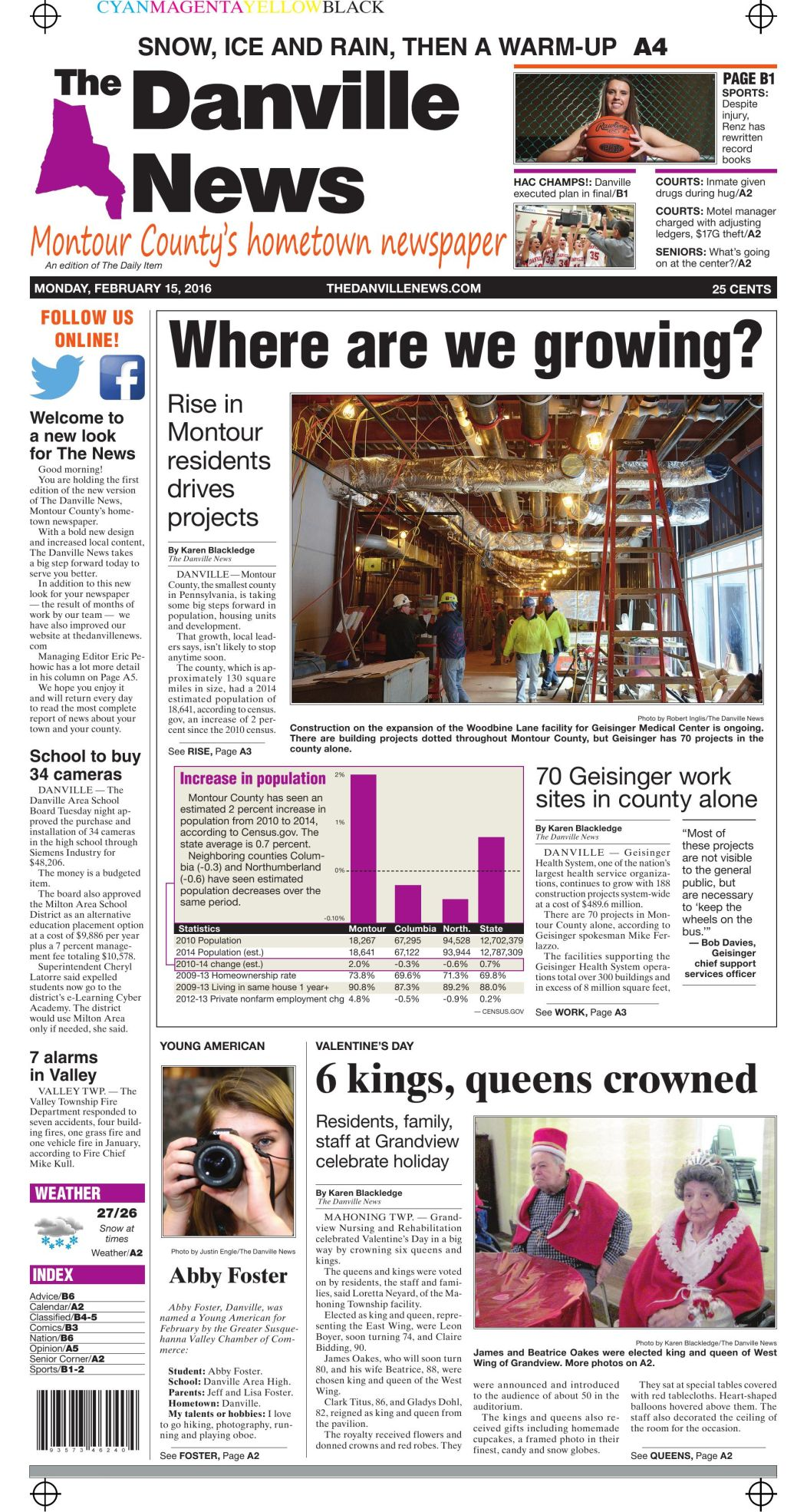 New-look Danville News | | dailyitem com