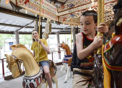 A DAY IN THE LIFE OF KNOEBELS: Grand Carousel