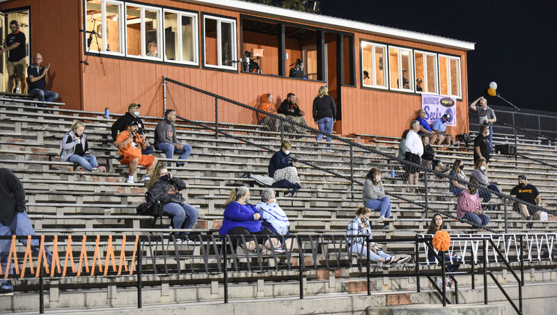 Football returns with crowd limits