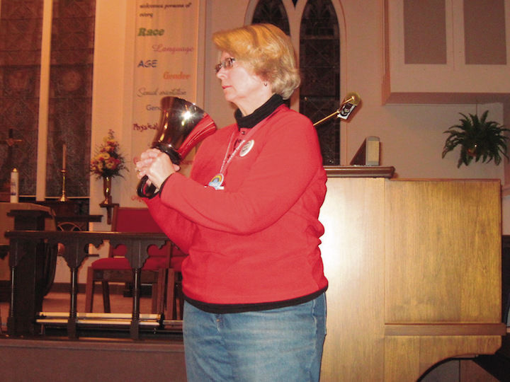 Transgender victims mourned at church's vigil