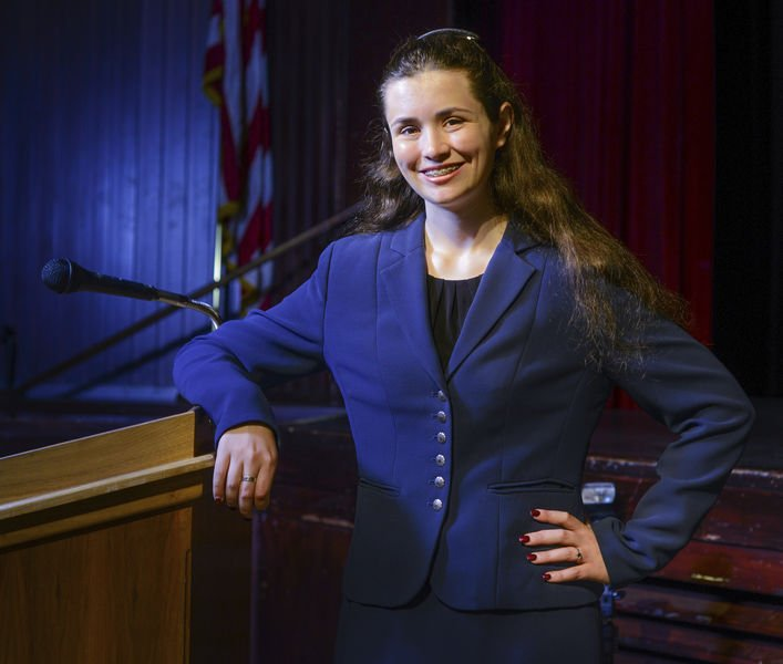 Senior: Public speaking 'important in any career choice'