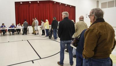 More than half of Valley cast straight party vote