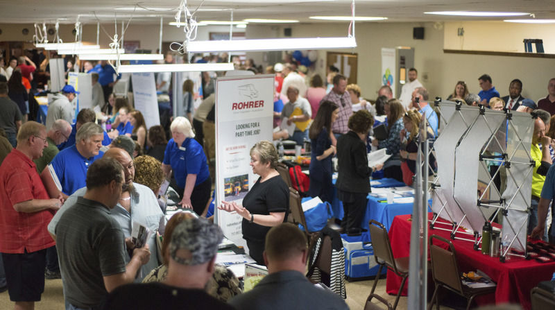 Ex-Wood-Mode workers worry about pay, commutes at job fair