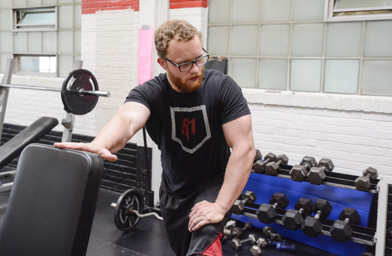 Addict uses fitness to pave road to recovery