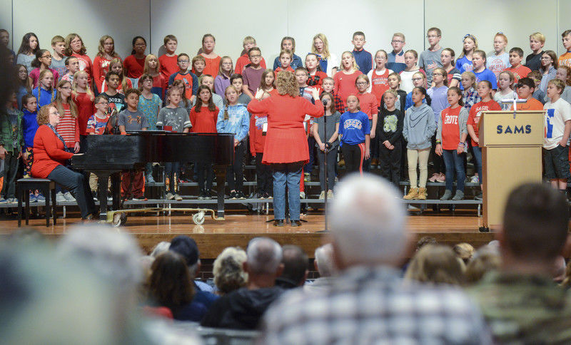 Students invite, honor veteran family members to Veteran's Day Assembly