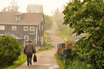 Maine's scenic Monhegan Island is a portrait of Brigadoon mixed with L.L. Bean