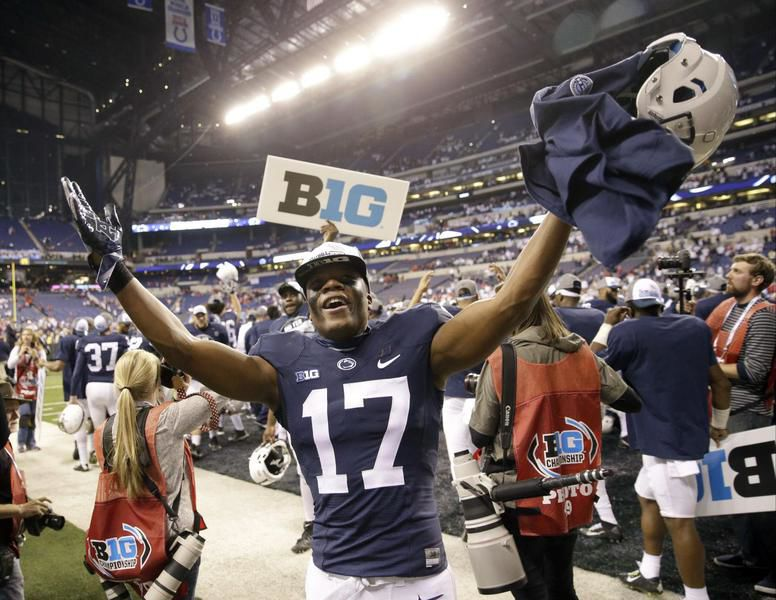Penn State's Taylor lets actions speak for him